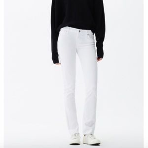 Citizens of Humanity Classic white jeans($100 OFF)